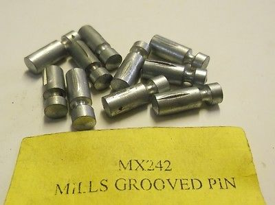 10 x Mountfield MX242 Mills Grooved Pin