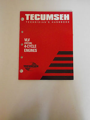 Tecumseh VLV (Vector) 4 cycle Engines Mechanic's Handbook